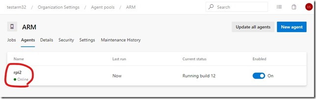 Azure DevOps self-hosted agent